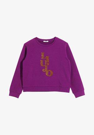 LOGO - Sweatshirt - violet