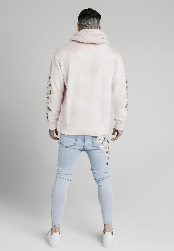 SIKSILK TIE DYE OVERHEAD HOODIE - Bluza z kapturem - dusky pink/rÓżowy Odzież Męska YYWB