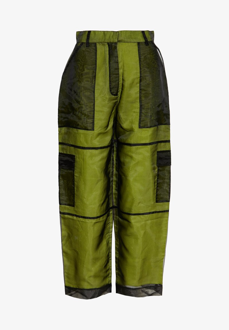 The Ragged Priest - PANT LINING - Kalhoty - lime/black