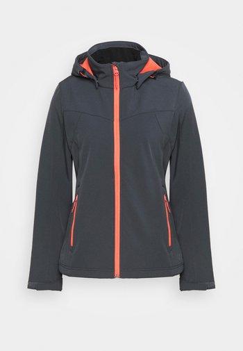 BRENHAM - Soft shell jacket - grey