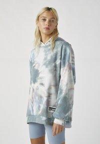 PULL&BEAR - Bluza z kapturem - grey - 0