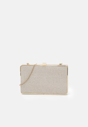 BELLE FRAME HARDCASE - Clutch - soft gold