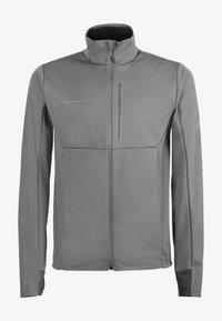Mammut - ULTIMATE  - Soft shell jacket - titanium phantom melange - 5