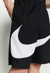 Nike Performance - DRY SHORT - Träningsshorts - black/white - 4