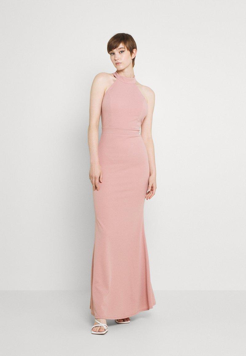 WAL G. - RAQUEL MAXI DRESS - Společenské šaty - blush pink