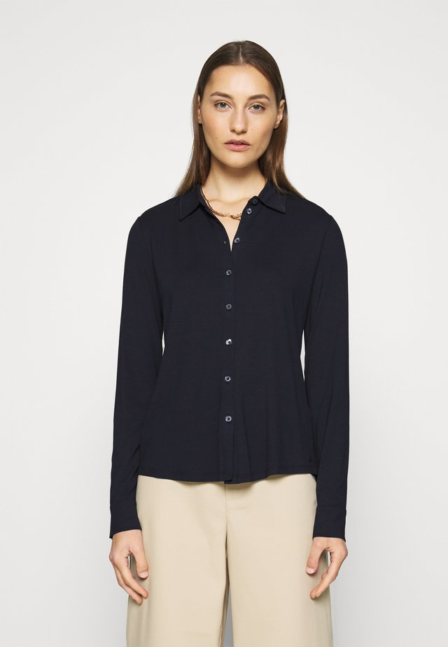 LONG SLEEVE - Camicia - midnight blue