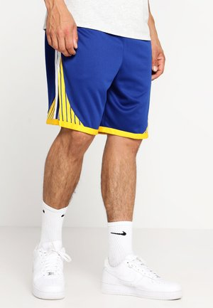 GOLDEN STATE WARRIORS NBA M NK SWINGMAN SHORT - Sports shorts - rush blue/white/amarillo