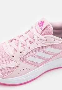 adidas Performance - RESPONSE RUN - Neutral running shoes - clear pink/footwear white/screaming pink - 5