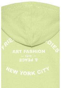 Frieda & Freddies - SWEAT JACKET - Zip-up hoodie - lime green - 2