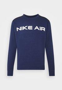 Nike Sportswear - AIR CREW - Sweatshirt - midnight navy/black/white - 3