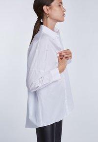 SET - Button-down blouse - bright white - 4