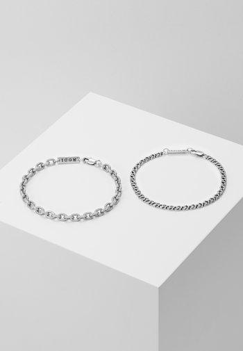 GRAHAM COMBO 2 PACK  - Bracelet - silver-coloured
