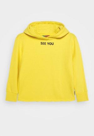 NORIEN - Jersey con capucha - bright yellow