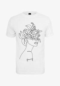 Merchcode - Print T-shirt - white - 0