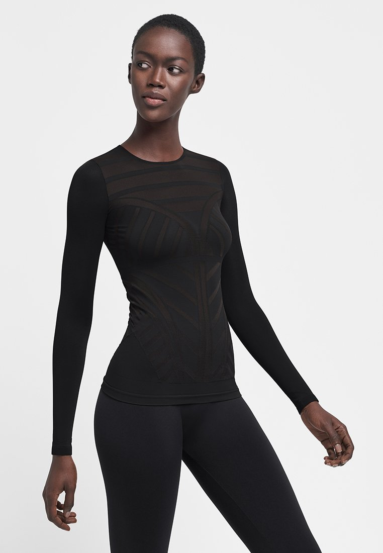 Wolford - Long sleeved top - black
