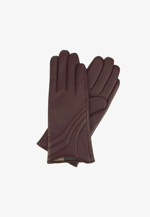 Gloves - burgund