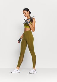 Nike Performance - ONE 7/8  - Leggings - olive flak/black - 1
