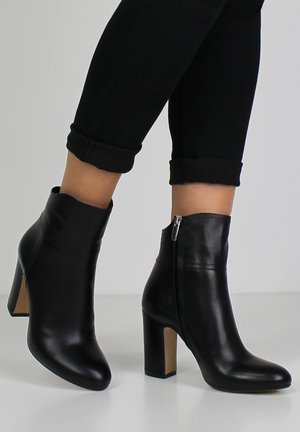 CARLA - High heeled ankle boots - black