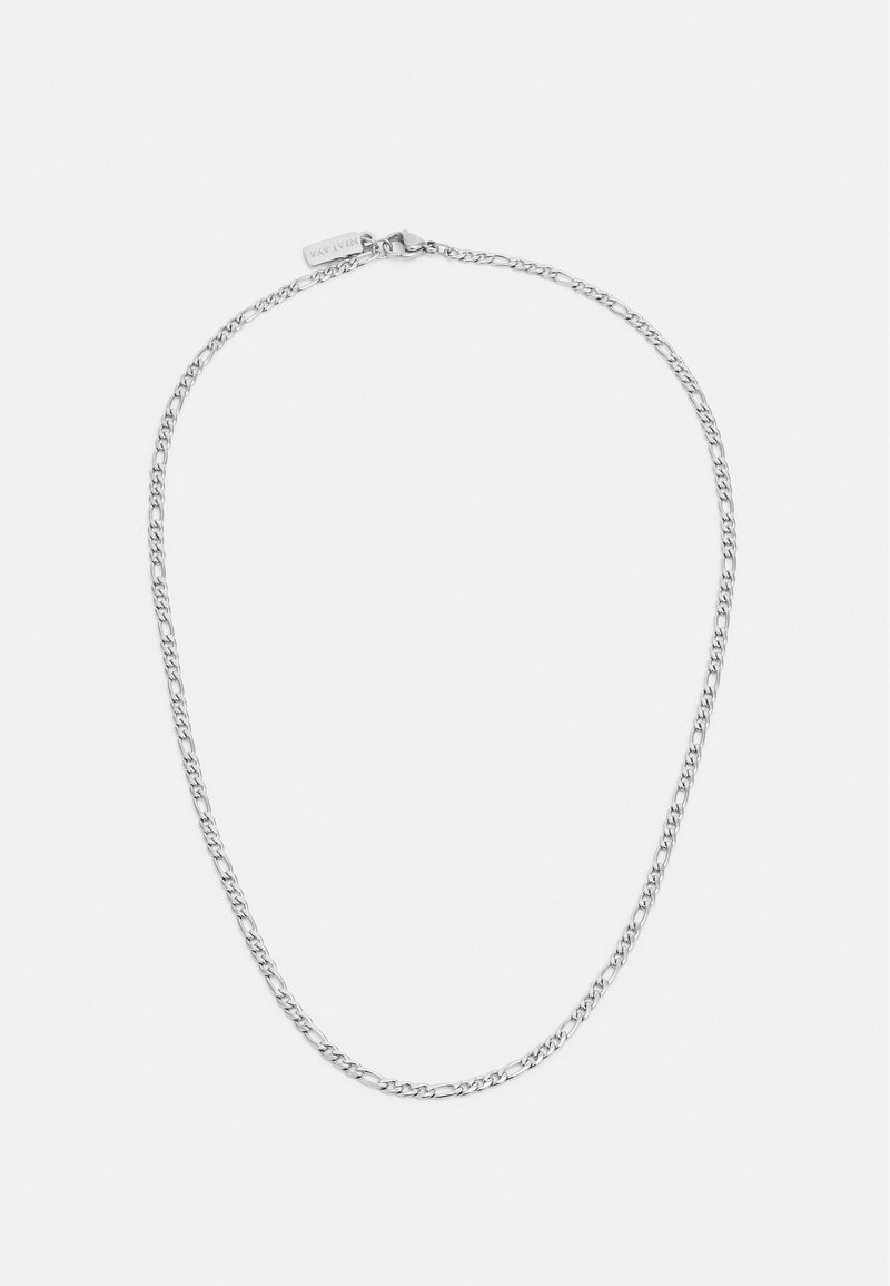 Nialaya - FIGARO CHAIN NECKLACE - Necklace - silver-coloured