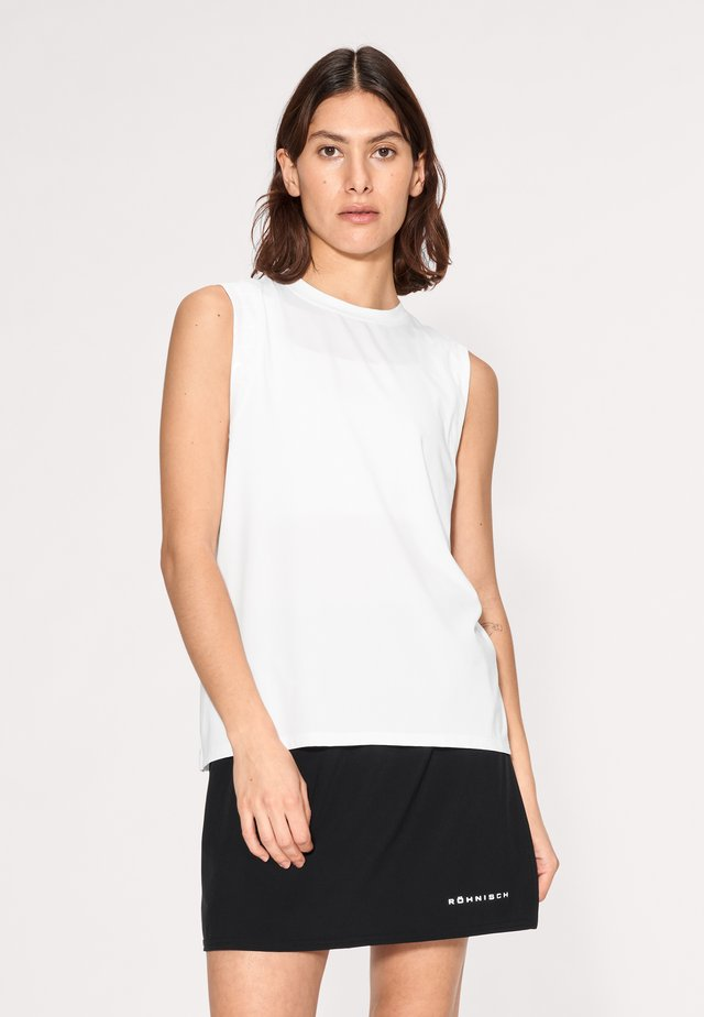 KAY SINGLET - Top - white