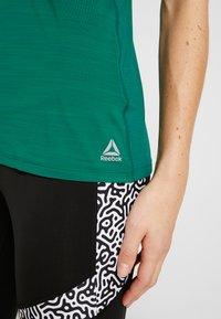 Reebok - TANK - Sports shirt - clover green - 5