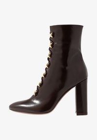 L'Autre Chose - High heeled ankle boots - dark brown - 1
