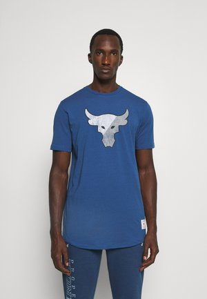 TRAINING DEPT - T-shirt con stampa - blue