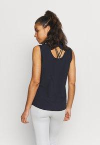 Icepeak - ALNA - Button-down blouse - dark blue - 2