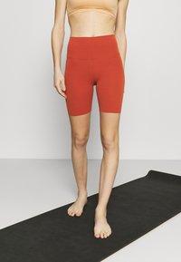 Nike Performance - Tights - rugged orange/light sienna - 0