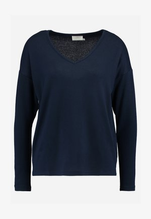 KASIANE V NECK  - Sweter - midnight marine