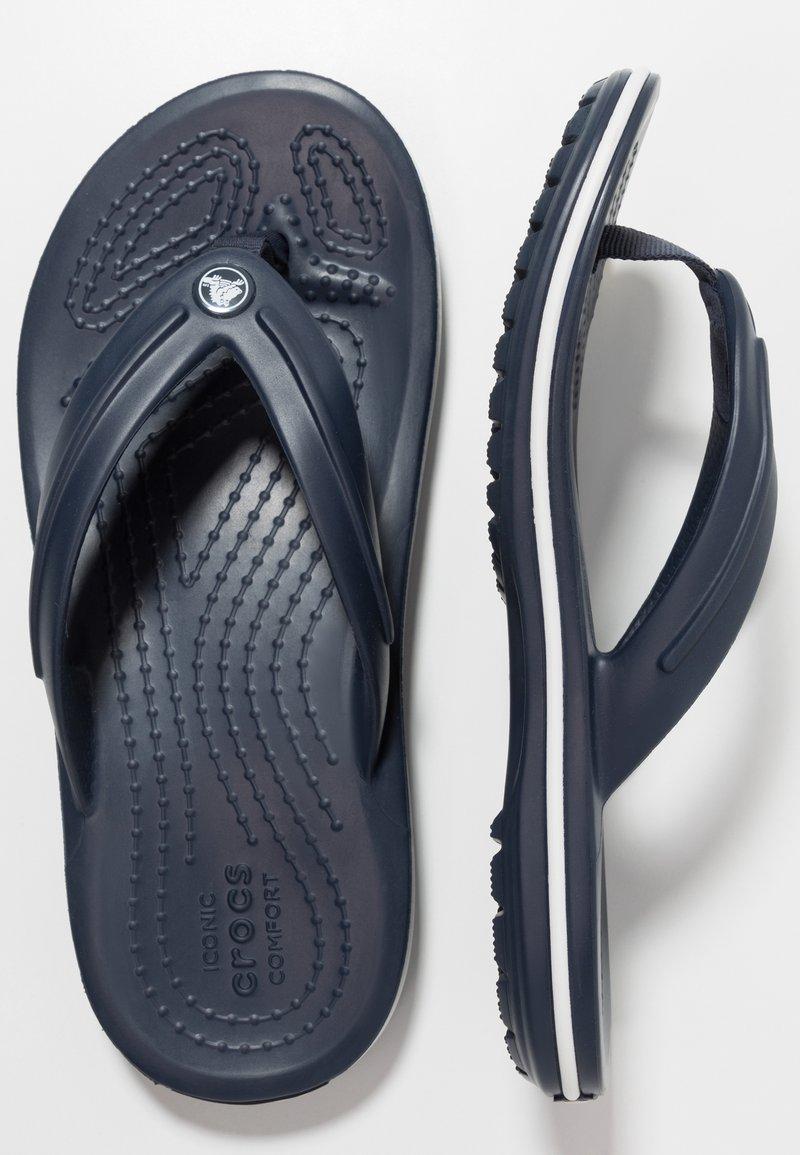 Crocs - CROCBAND FLIP - Pool shoes - navy