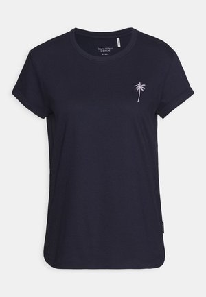 Print T-shirt - scandinavian blue