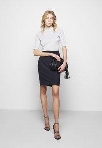 HUGO - NENALIA - Pouzdrová sukně - open blue - 1