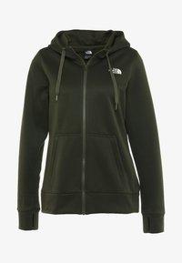 The North Face - SURGENT FULLZIP - Fleece jacket - green heather - 5