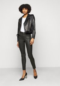 Emporio Armani - Trousers - black - 1