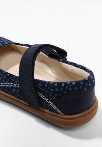 Clarks - FLASH STRIDE - Touch-strap shoes - dark blue - 5