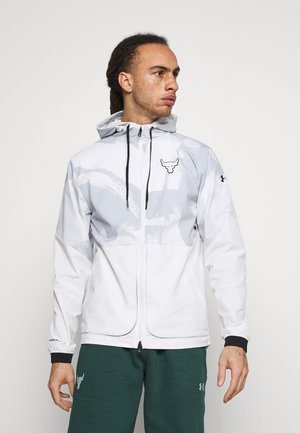 ROCK LEGACY - Training jacket - onyx white