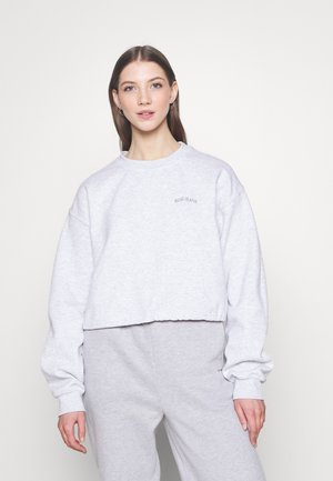 BUBBLE HEM  - Sweatshirt - grey marl