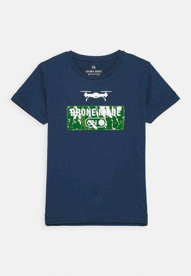 TEEN BOYS - T-shirt print - estate blue