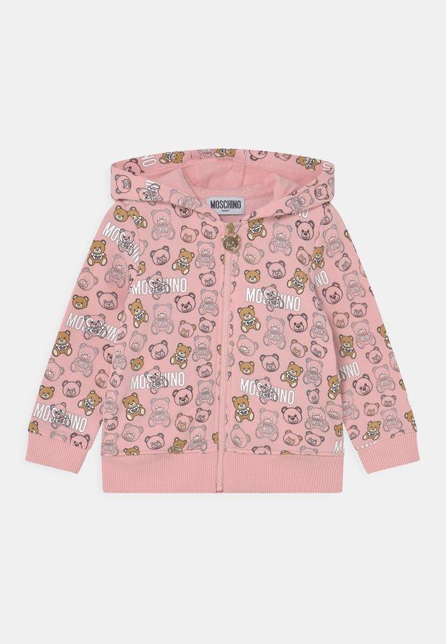 ADDITION - Mikina na zip - pink