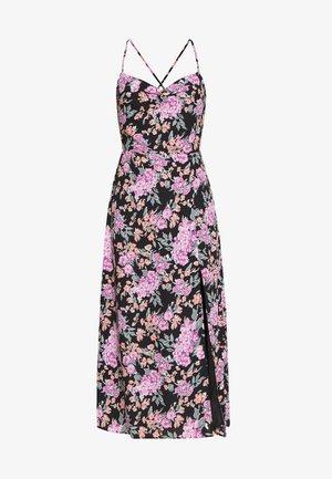 ALMOND - Day dress - large black