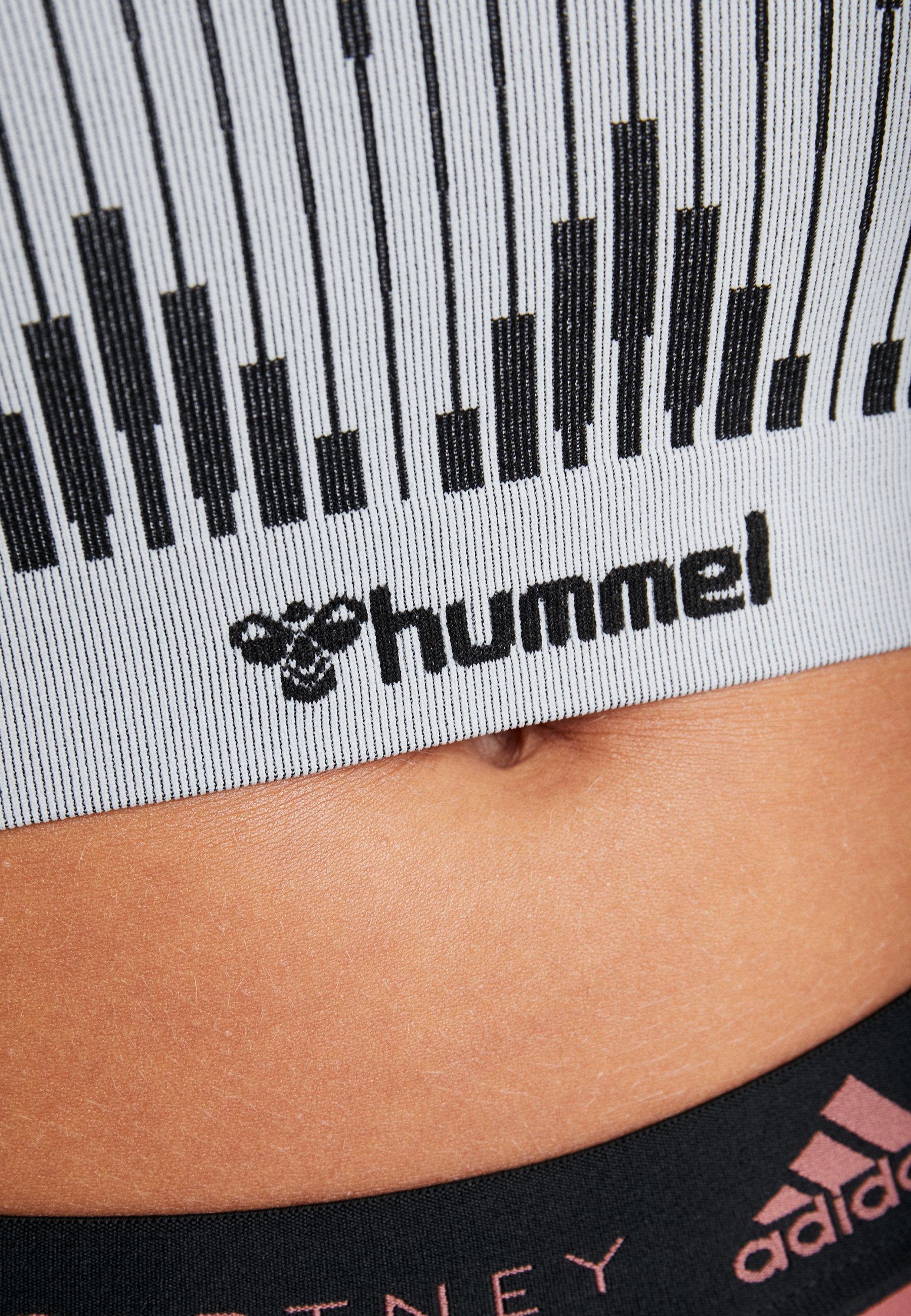 Hummel HMLWERA SEAMLESS - T-shirts med print - quarry