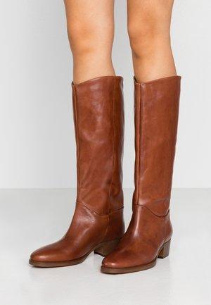 MARIEL - Boots - cognac