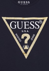 Guess - JUNIOR CORE - Triko s potiskem - duke blue - 2