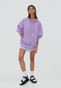 PULL&BEAR - Hoodie - purple - 1