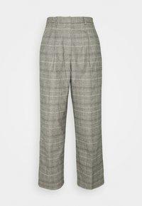 Marc O'Polo DENIM - SOFT CHECK PANTS - Bukse - multi/cloudy melange - 0
