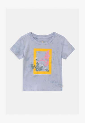 TODDLER GIRL NATIONAL GEOGRAPHIC - T-shirt imprimé - blue