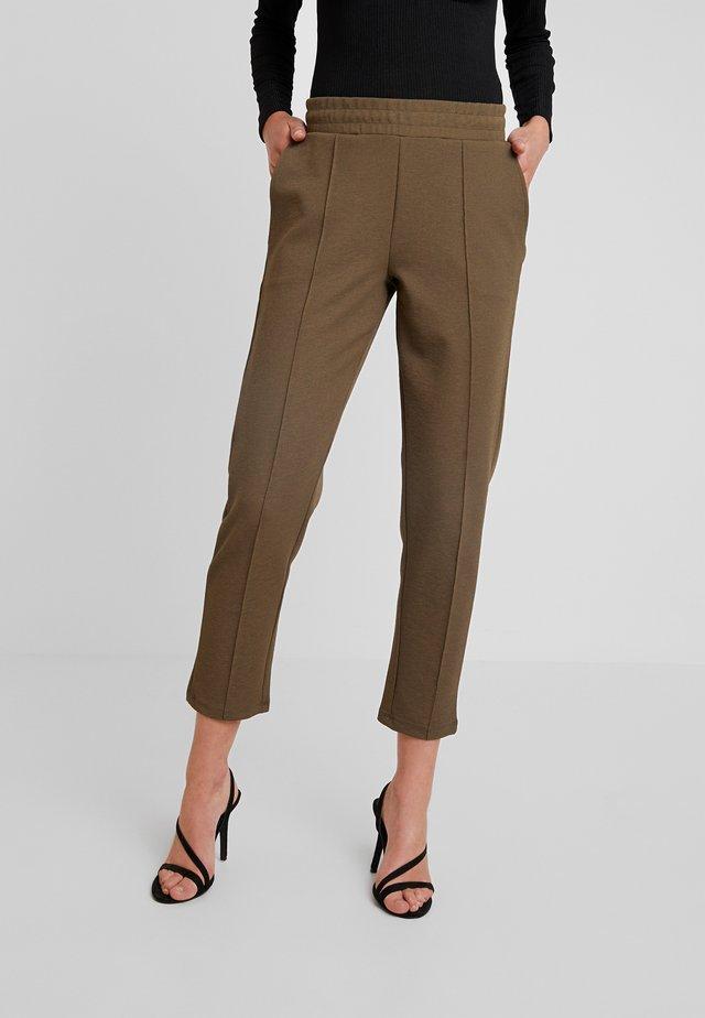 VICKY TROUSERS - Pantalones - dark olive
