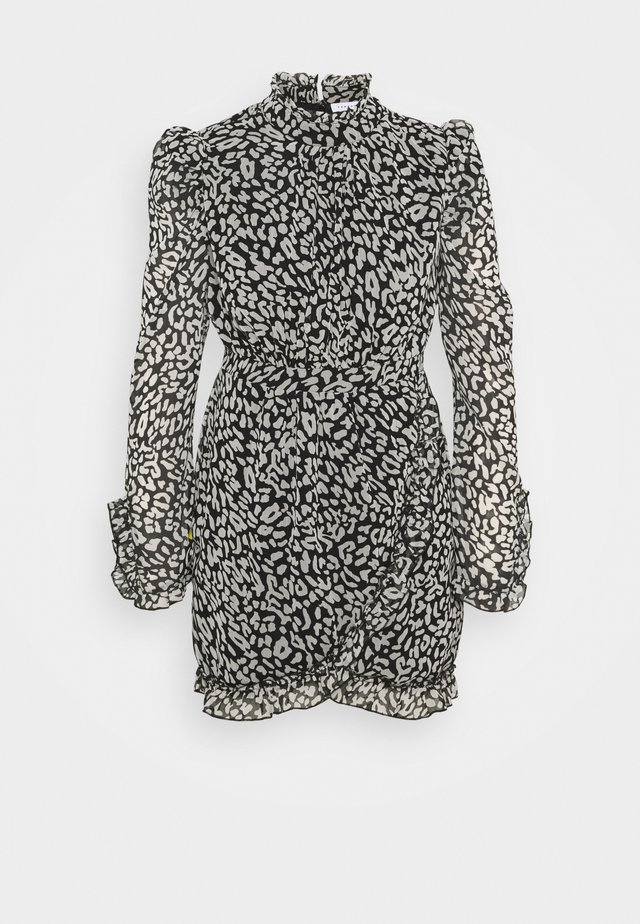 ANIMAL WRAP MINI - Day dress - mono