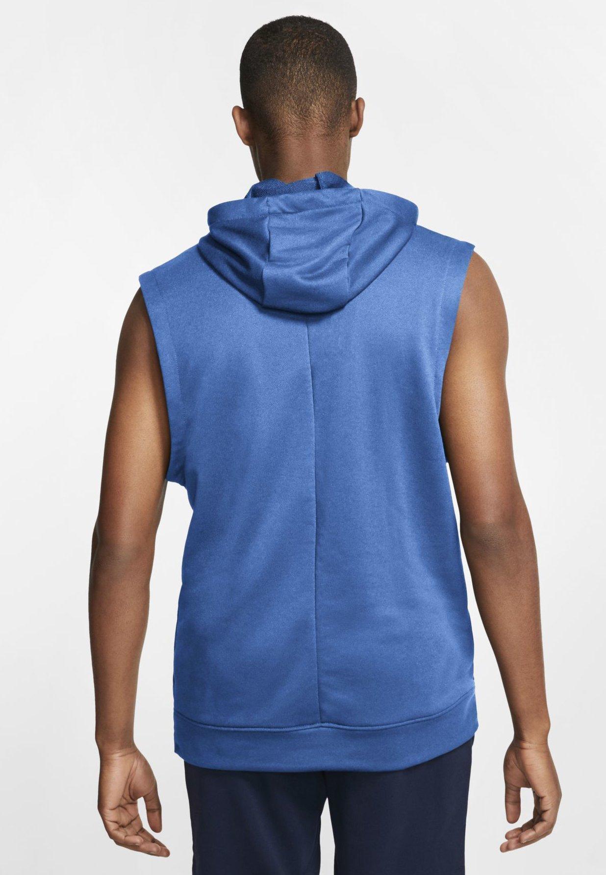 Nike Performance Sweat à capuche - pacific blue/pacific blue